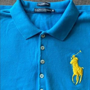 Ralph Lauren Big Pony Polo Shirt EUC